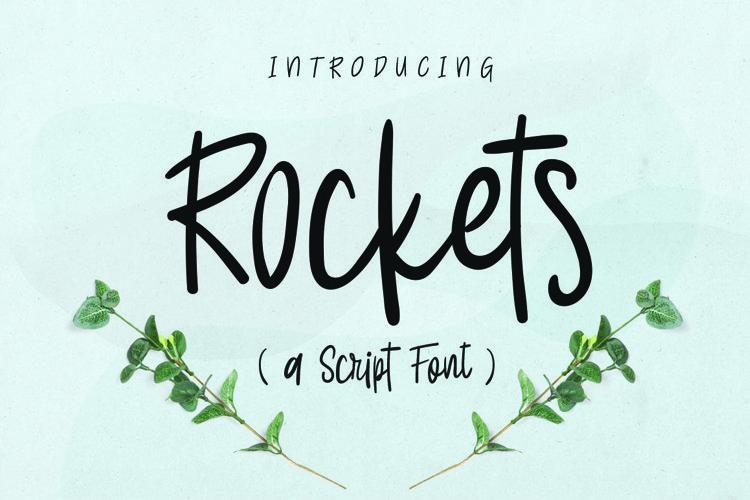Web Fonts Rockets Script