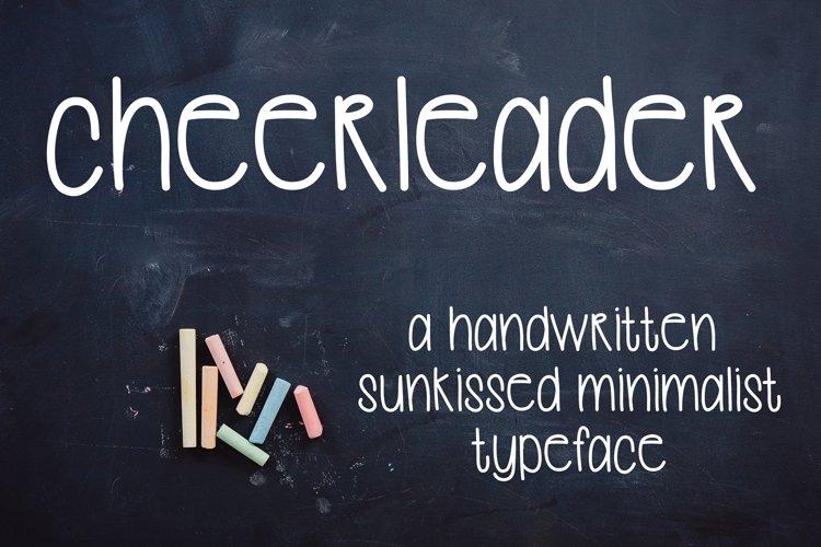 Cheerleader example image 1