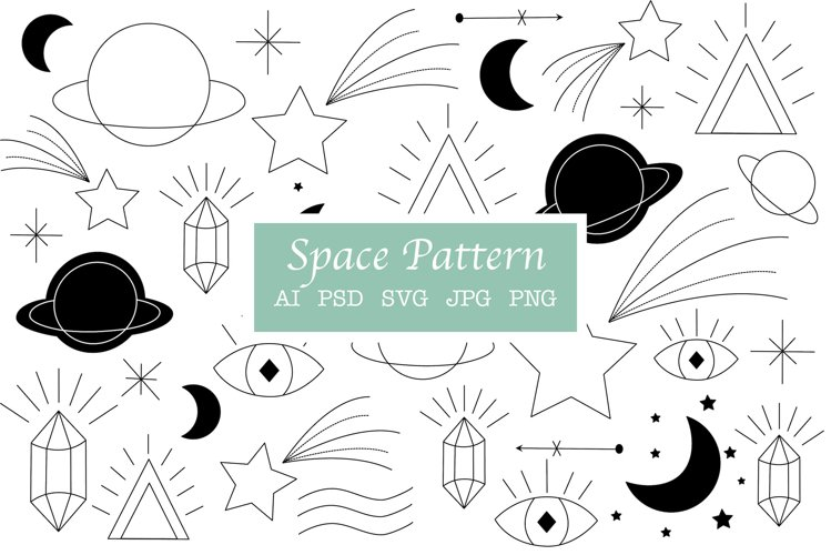 Space Pattern | Space elements example image 1