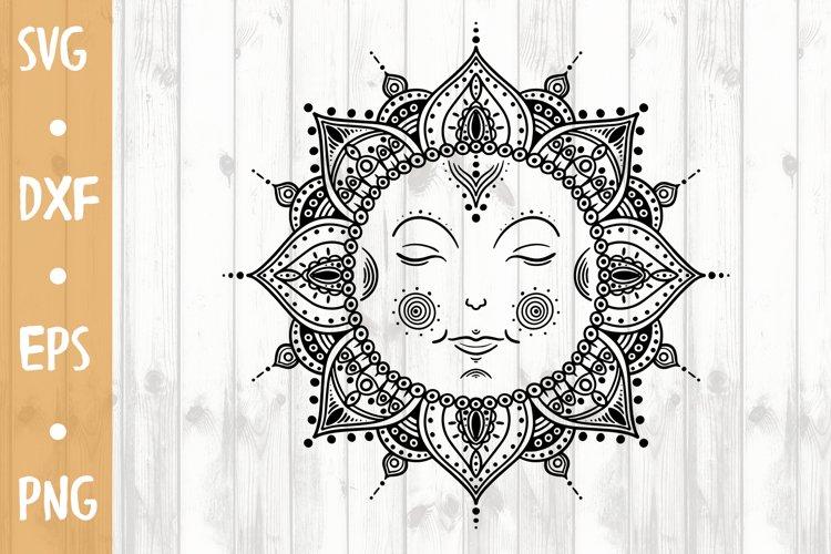 Mandala Sun SVG CUT FILE