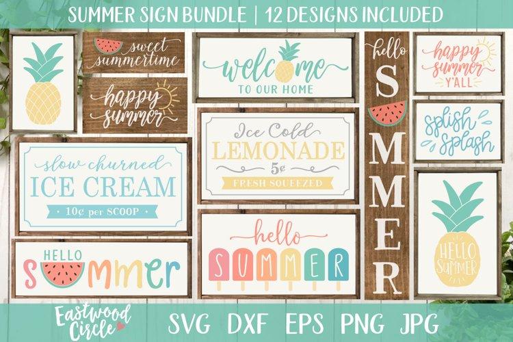 Summer SVG Bundle - Cut Files for Signs
