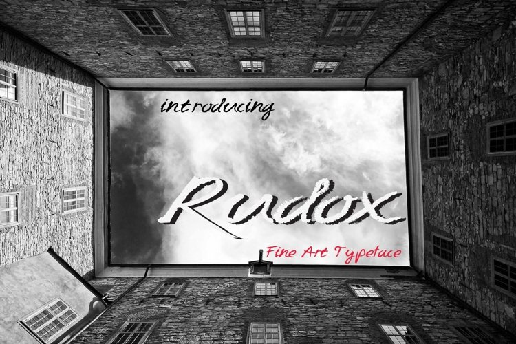 RUDOX pencil handwriting example image 1