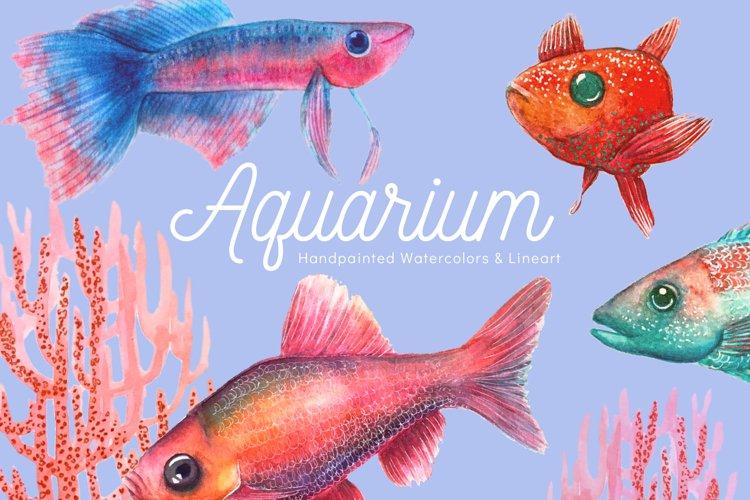 Aquarium - Illustration Set example image 1