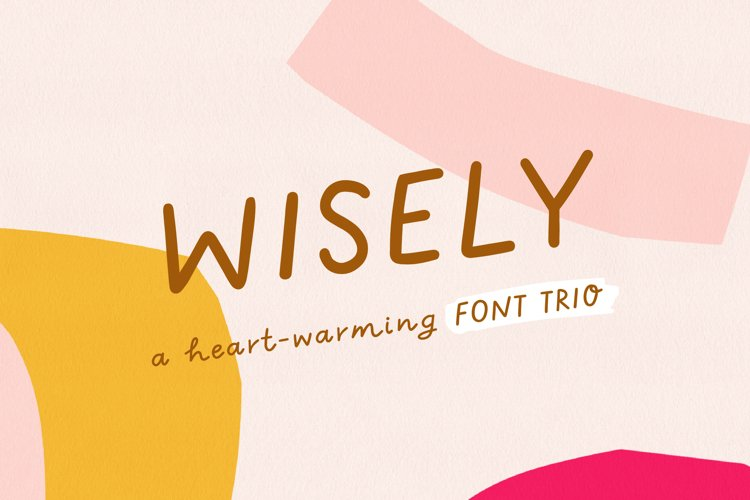 Wisely | Handwritten Font Trio