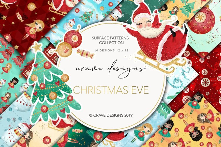 Christmas Eve Patterns example image 1