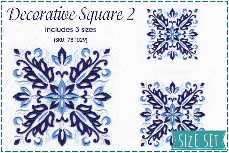 Decorative Blocks No2 Embroidery Design
