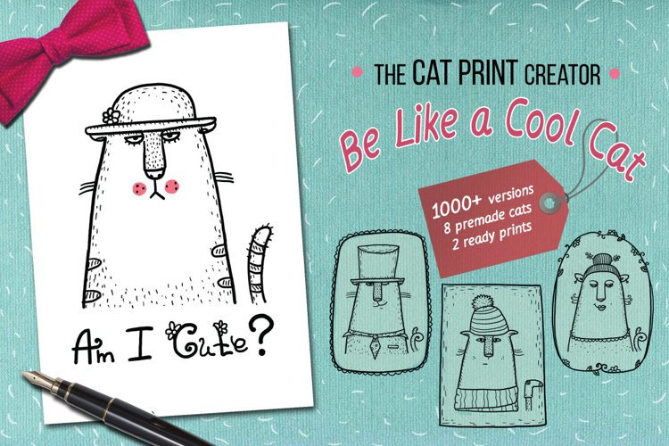 The print creator - Like a Cool Cat example image 1