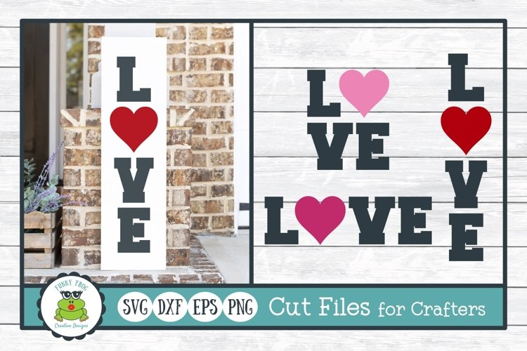 Love, Valentine SVG Cut Files for Crafters