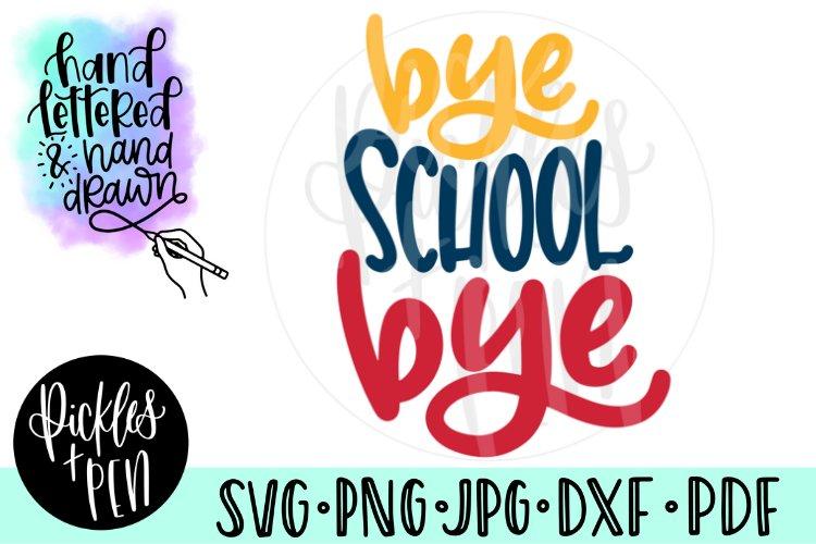Last Day of School SVG - Kids Shirt Design