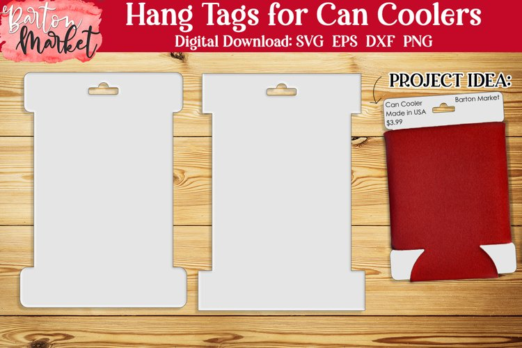 Hang Tags for Can Coolers