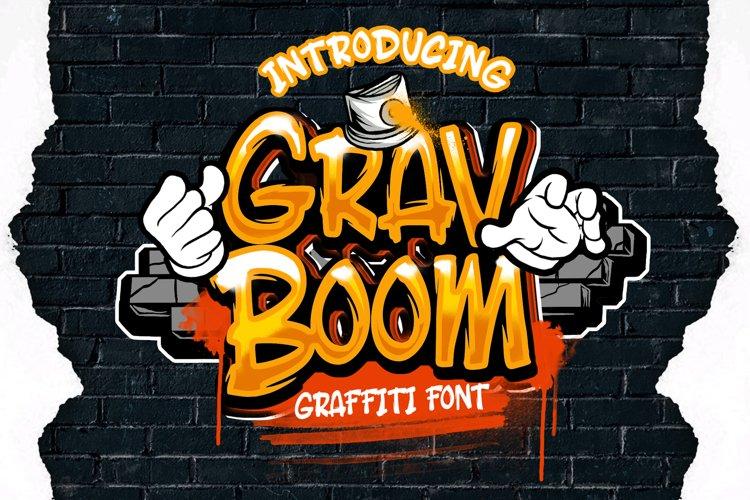 GRAVBOOM GRAFFITI FONT