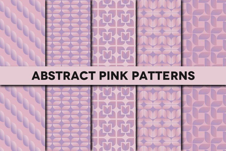 Abstract Pink Patterns example image 1