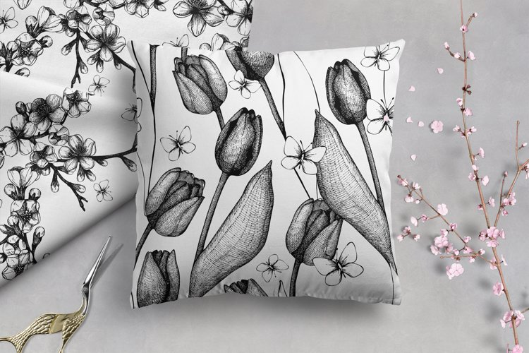 Floral Patterns Bundle example 7