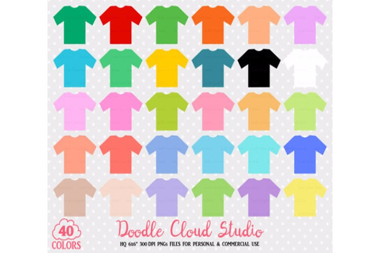 40 Colorful T-Shirt Clipart Cute Shirts PNG with Transparent Background for Personal   Commercial Use