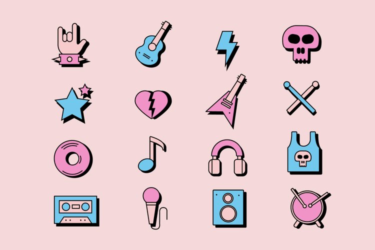 Rock'n'Roll Icons example image 1