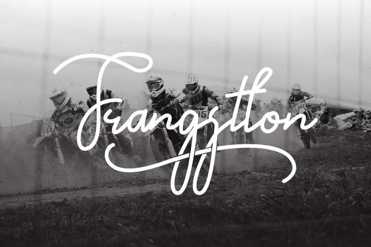 Frangstton - Monoline Script example image 1