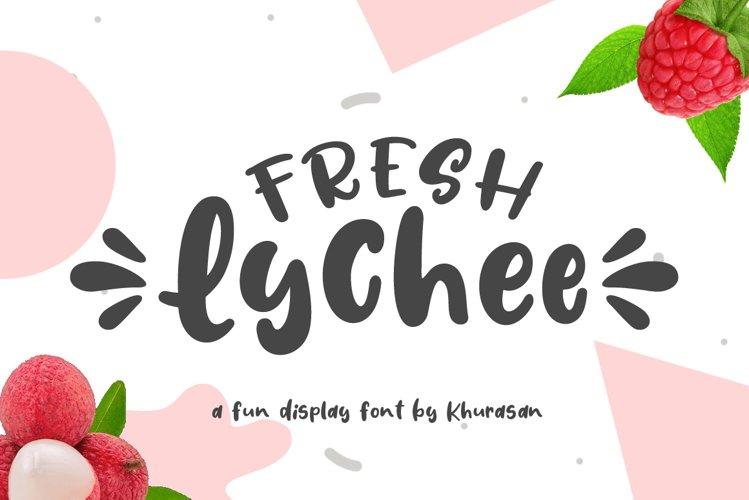 Fresh Lychee example image 1