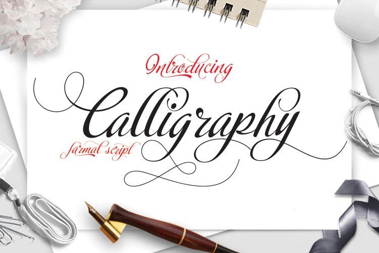 Calligraphy script example image 1