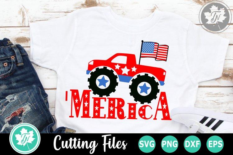 'Merica - An Americana SVG Cut File example image 1
