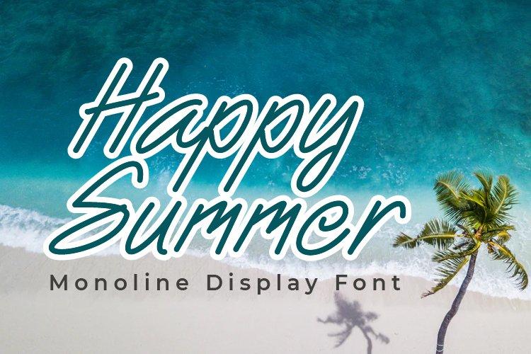 Happy Summer example image 1
