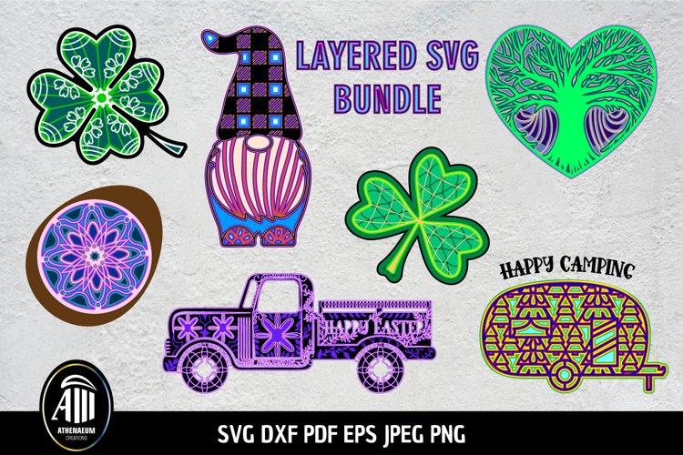 3d Layered Bundle  Best Seller SVG Bundle