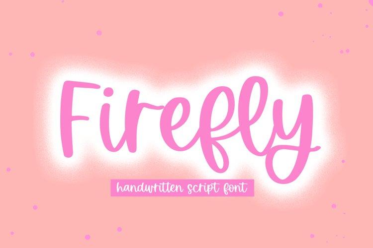 Firefly - Handwritten Script Font example image 1