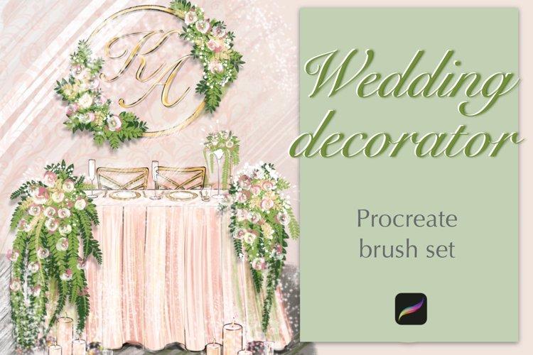 Wedding Procreate brush set.