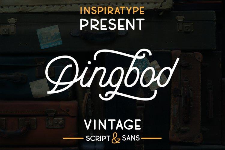 Dingbod - Script and Sans example image 1