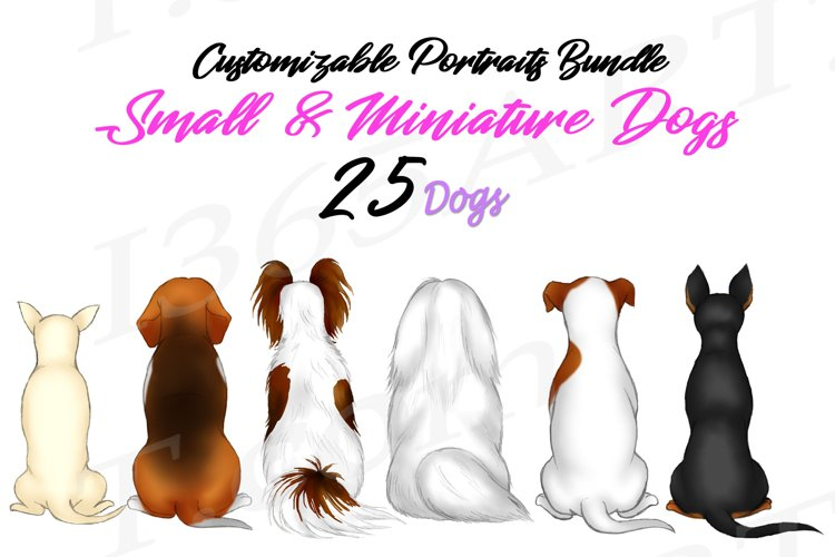 Best Friends Clipart small miniature toy dogs Clipart PNG
