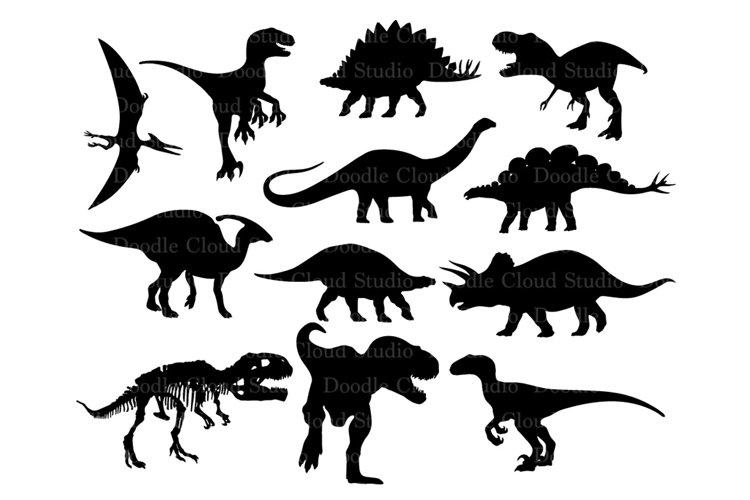Dinosaurs SVG Dinosaur Monogram T-Rex Prehistoric Dinosaur.