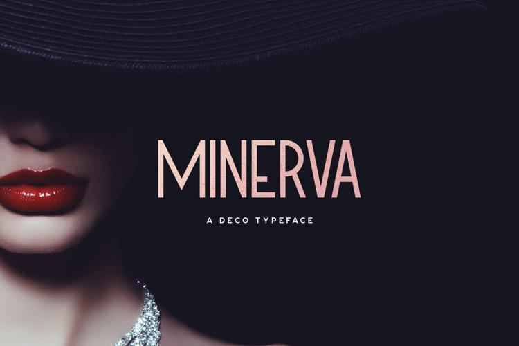 Minerva Typeface example image 1