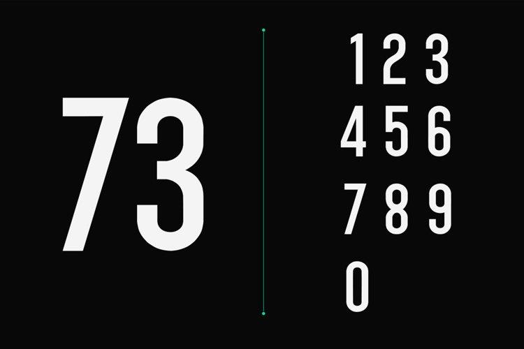 Singo - Sans Display Font example 13