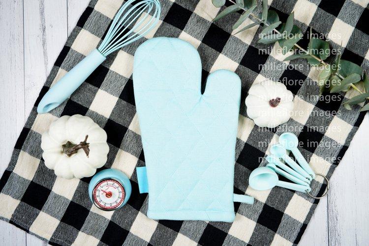Farmhouse Kitchen Pot Holder Flatlay Craft Mockups Photo