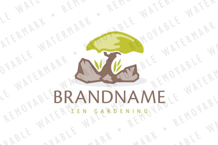 Lone Bonsai Logo 130014 Logos Design Bundles