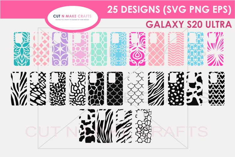 25 Galaxy s20 Ultra SVG Designs| Phone Case Decals example image 1