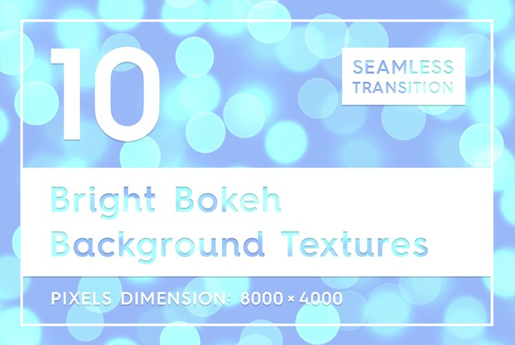 10 Bright Bokeh Background Textures example image 1