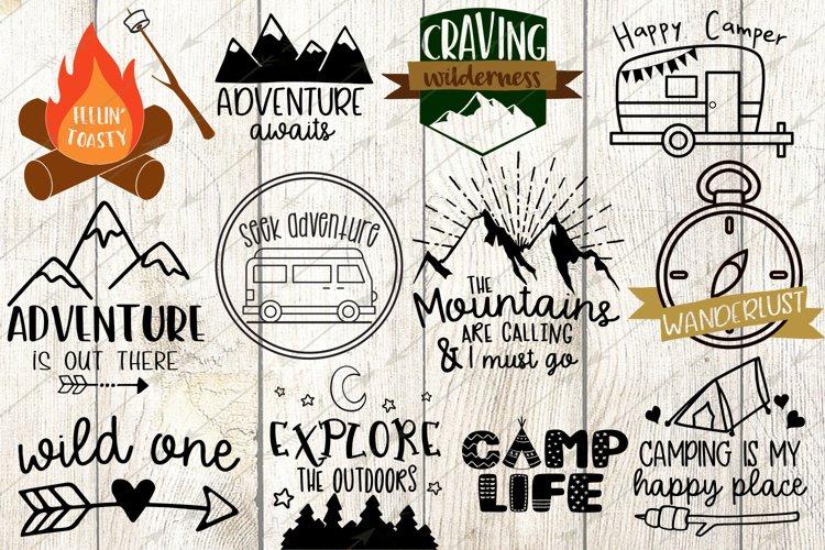 Happy Camper svg - Free Design of The Week Font