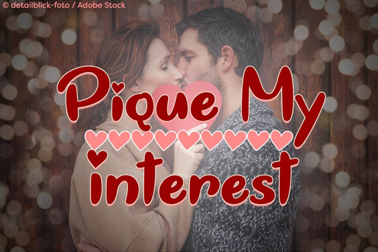 Pique My Interest example image 1