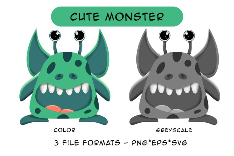 Cute Monster example image 1