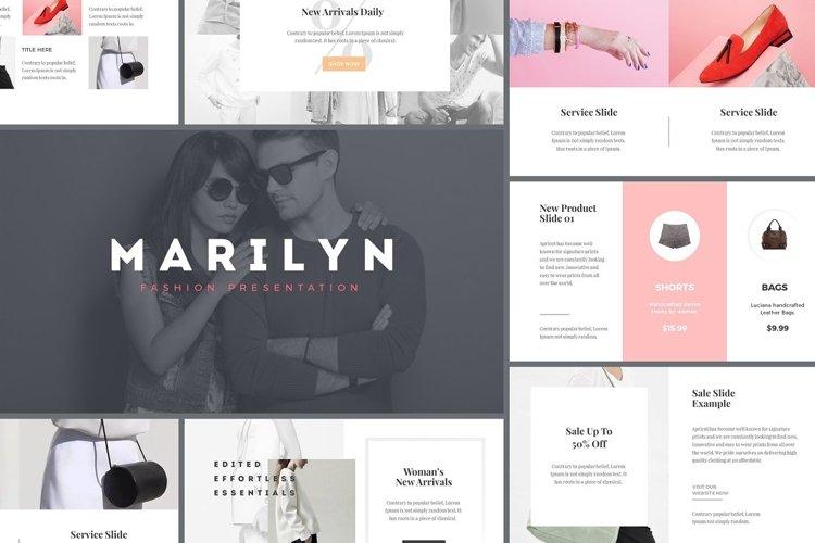 Marilyn - Fashion Presentation