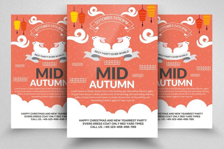 Mid Autumn Festival Flyer example image 1