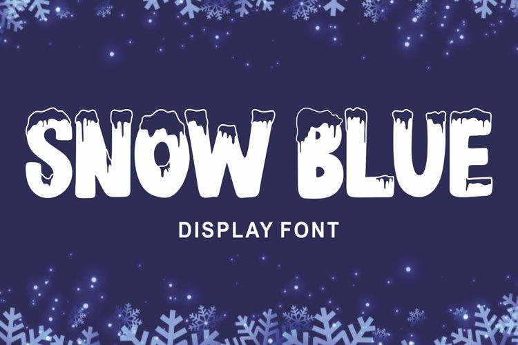 SNOW BLUE example image 1