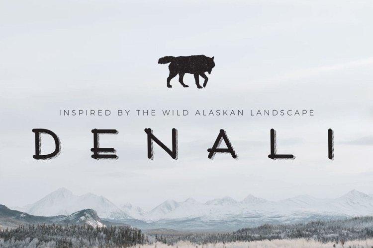 Denali | A Wild Alaskan Sans-Serif example image 1