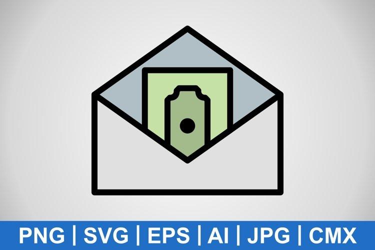 Vector Sending Money Icon example image 1