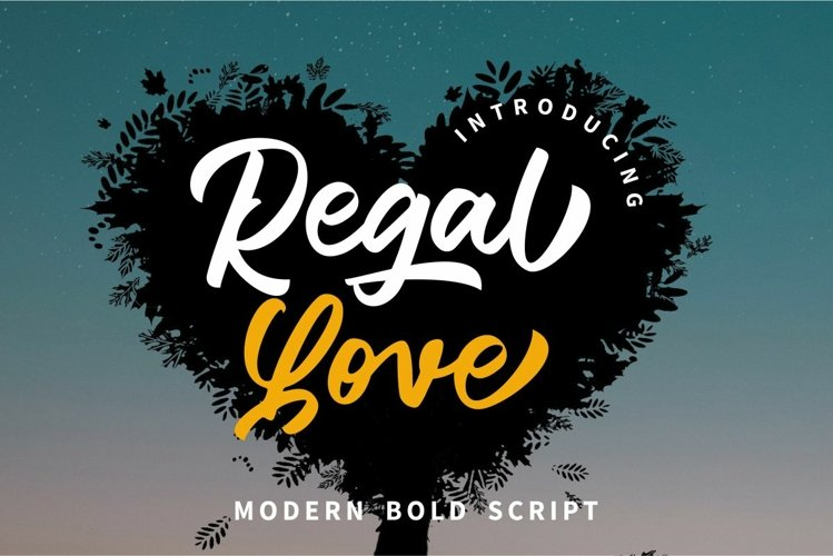 Regal Love example image 1