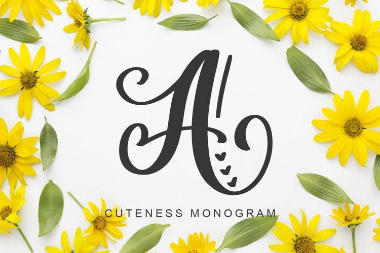 Amorah Monogram example image 1