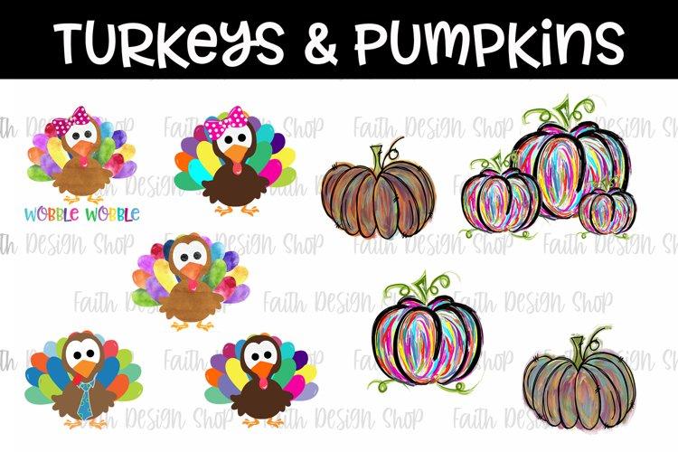 Pumpkins & Turkeys Bundle