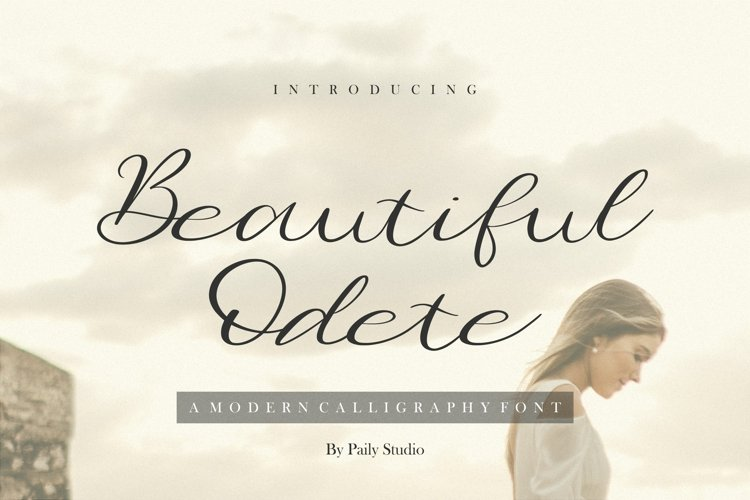 Beautiful Odete Modern Calligraphy Font