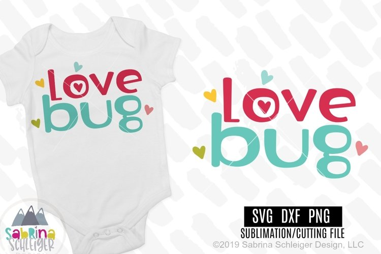 Love Bug- Kids Valentine SVG Cutting File