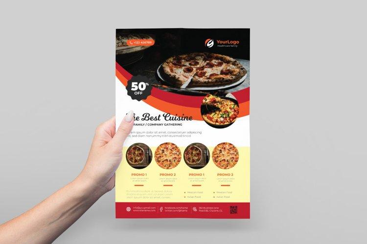 Food Festival Flyer Design example image 1